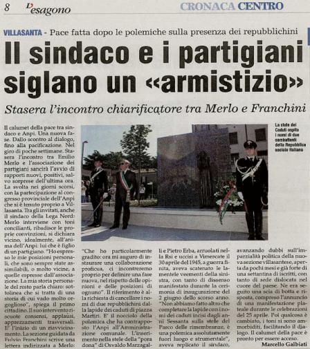 """ANPI sez. """"Albertino Madella"""" - Villasanta"""